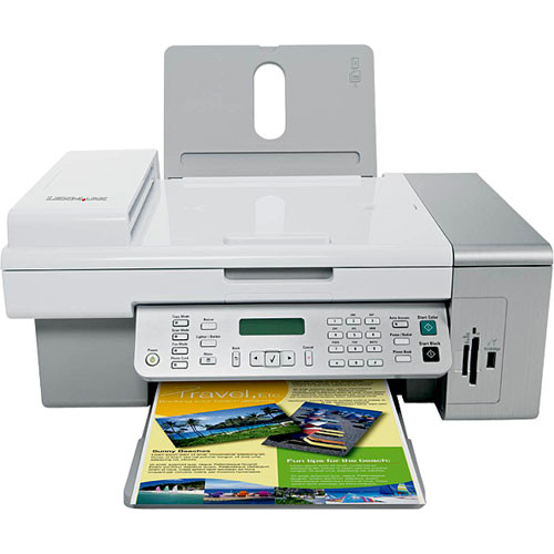 cd installation lexmark x5470