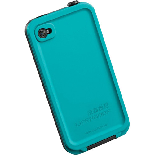 lifeproof case for iphone 4 lifeproof iphone for the iphone 4s 4 teal 1001 07 b amp h 17771