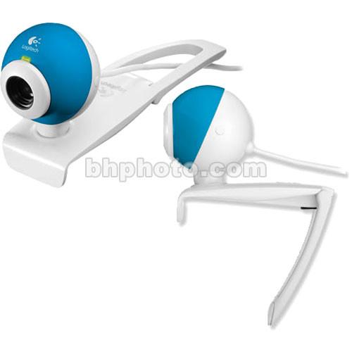 Logitech Quickcam Chat For Skype Blue 961556 0403 B H Photo