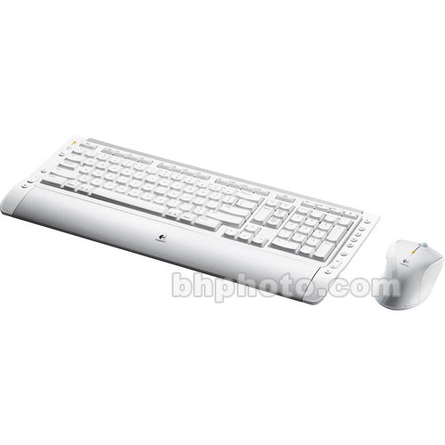 Logitech Cordless Desktop S530 Laser for Mac 967664-0403 B&H