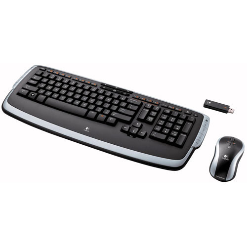 Logitech Cordless Desktop LX 710 Laser - Wireless 967670-0403