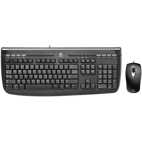 dd7d0c7cd9e Logitech Internet 350 USB Desktop Keyboard and Mouse 967972-0403