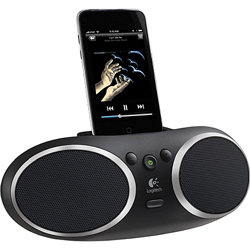 2a069fc9f76 Logitech S135i Portable Speaker & iPod Dock 984-000109 B&H