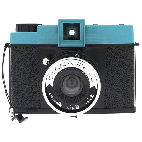 Lomography Diana Zone Focus Film Camera With 75mm Lens Hp650