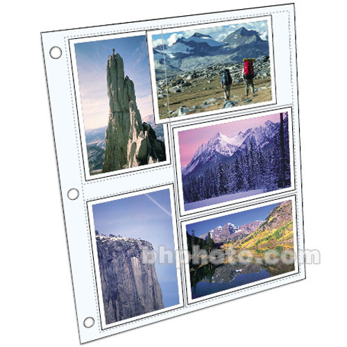 mbi refill pages for library collection albums 899684 b h photo
