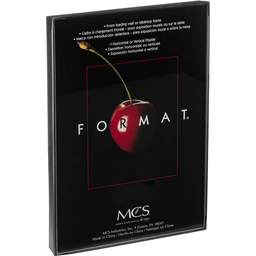 Mcs Format Frame 85 X 11 Black 10449 Bh Photo Video