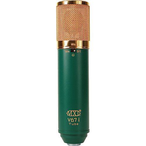 mxl v67i tube dual diaphragm condenser microphone v67i tube b h. Black Bedroom Furniture Sets. Home Design Ideas