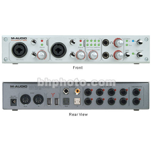 m audio firewire 410 firewire recording interface 9900. Black Bedroom Furniture Sets. Home Design Ideas