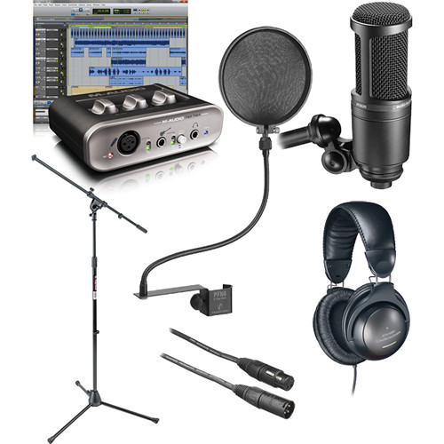 Marvelous M Audio Fast Track Home Recording Starter Kit Bh Photo Video Largest Home Design Picture Inspirations Pitcheantrous