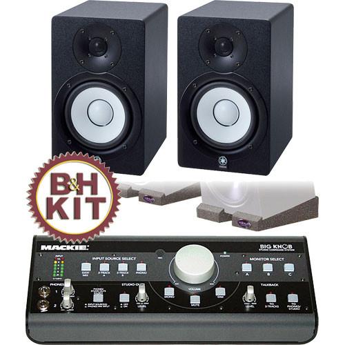 Mackie big knob and yamaha speaker b h kit b h photo video for Yamaha hs50m review