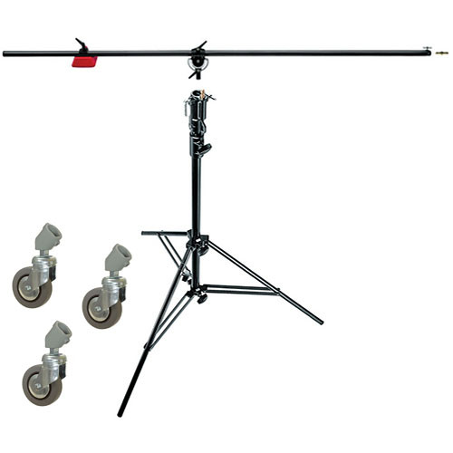 Manfrotto 085bs Heavy Duty Boom And Stand Black 085bs B Amp H