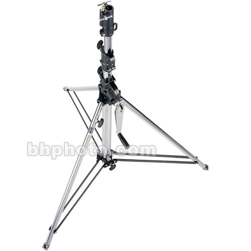 Manfrotto Short Wind Up Stand Chrome Plated 9 087nwsh B Amp H