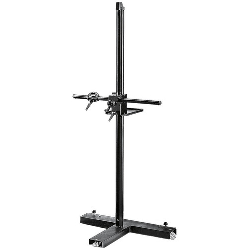 Manfrotto mini salon 190 camera stand 806 b h photo video for Stand salon