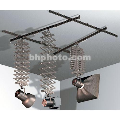 Studio Lighting Rail System: Manfrotto Pro Studio Rail System 43 Kit For 3 Lights