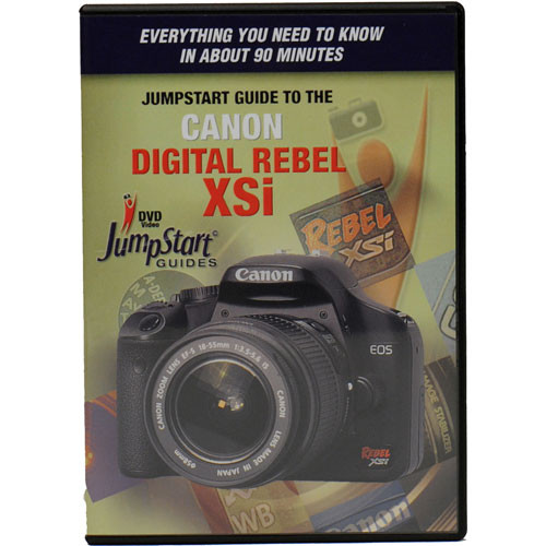 MasterWorks DVD: Jumpstart Guide to the Canon EOS Rebel XSi / 450D