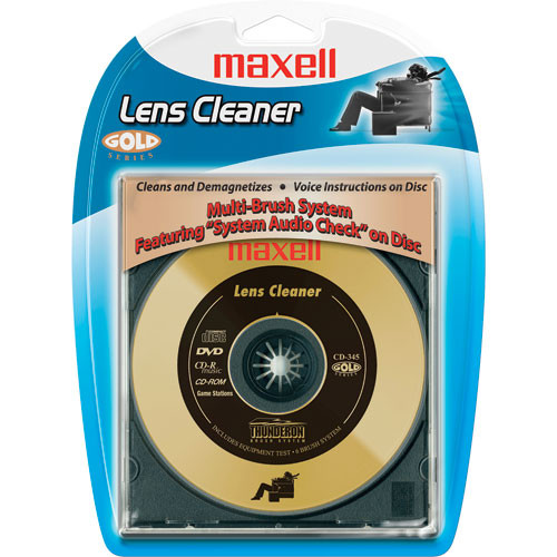 how to clean cd laser lens