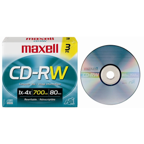 How many times can you rewrite a CD-RW?