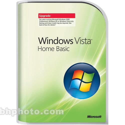 Microsoft windows vista home basic edition dvd-rom 66g00649.