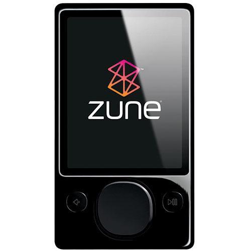 microsoft zune digital media player 120gb black h3a 00001 b h rh bhphotovideo com Microsoft Zune Microsoft Zune Players