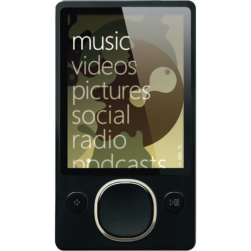 microsoft zune 80gb black digital media player 2nd hpa 00001 b h rh bhphotovideo com Zune vs iPod Zune Software