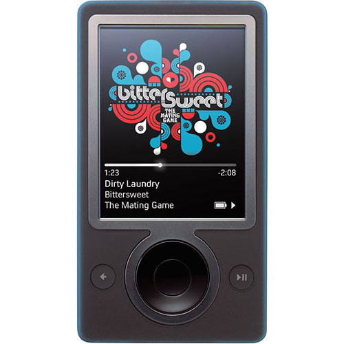 microsoft zune wireless player register