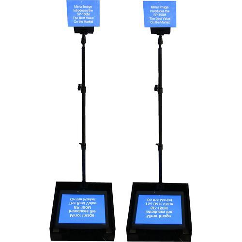 mirror image sp 150mp speech series prompter with dual sp 150mp