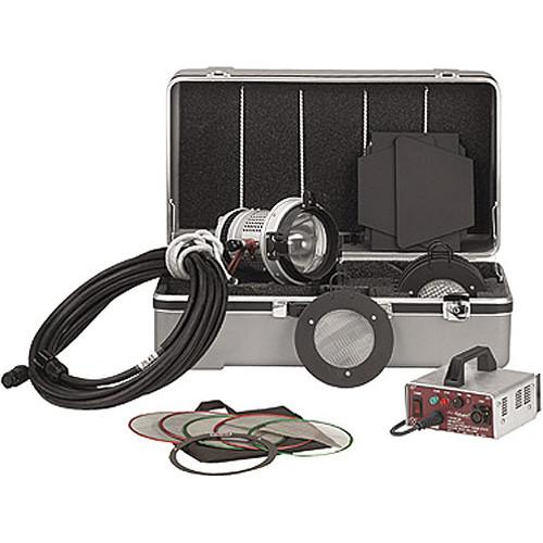 Mole Richardson Zip Light: Mole-Richardson Molepar 200 Watt HMI PAR Light Kit 64163 B&H