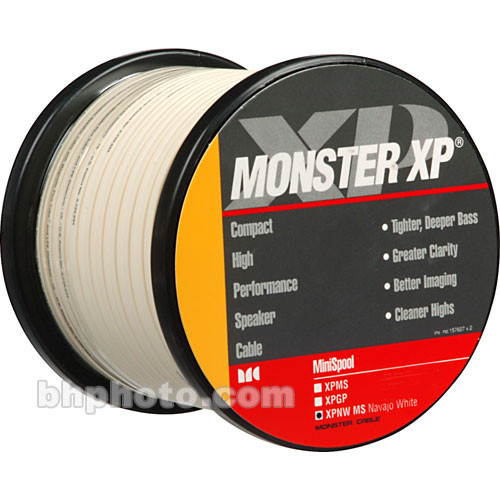 Monster Cable XP NW Compact (16 Gauge) Speaker Cable 100446 B&H