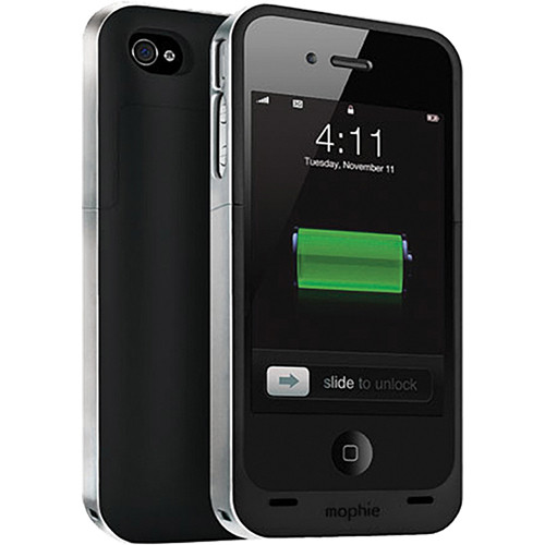 mophie iphone 4 mophie juice pack air for iphone 4 4s black 1145 b amp h photo 12649