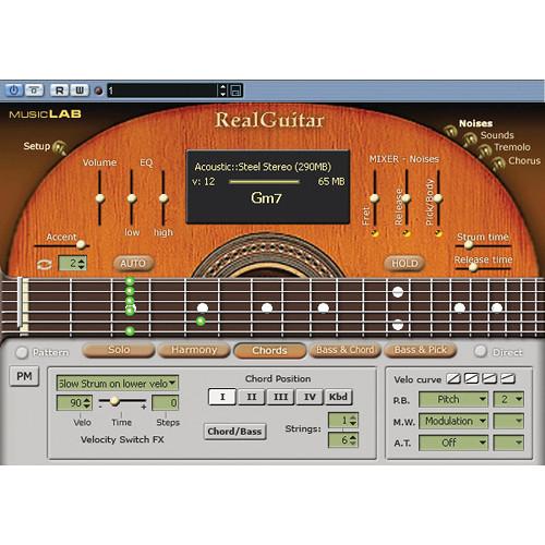 musiclab realguitar acoustic guitar virtual instrument 12 41186. Black Bedroom Furniture Sets. Home Design Ideas