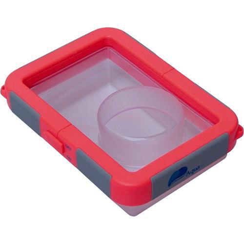 Waterproof Camera Case, Medium (Red)