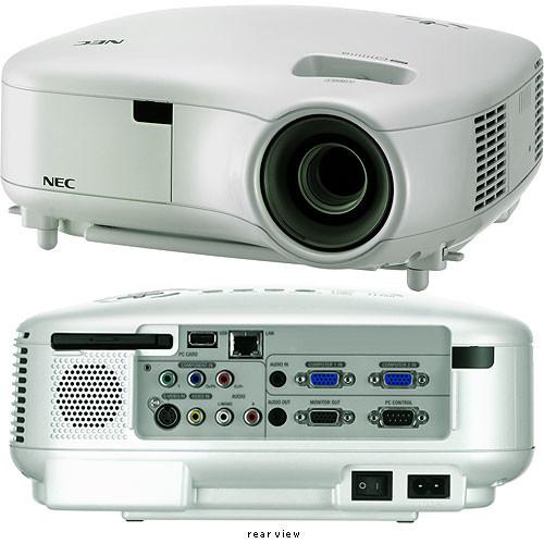 nec lt280 xga projector lt280 b h photo video rh bhphotovideo com Projector Connection NEC LT280 Remote Control