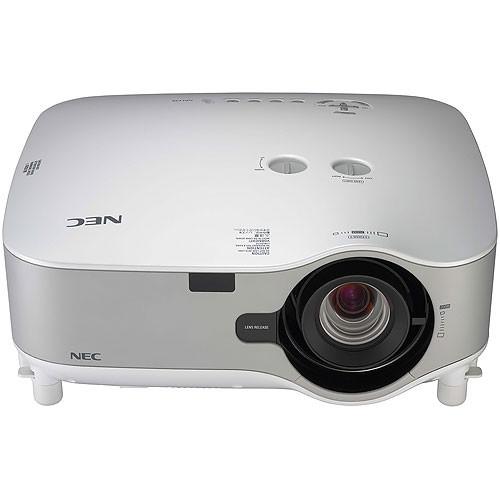 nec widescreen installation lcd projector np3151w b h photo rh bhphotovideo com NEC VT 47 Projector Manual Old NEC Projectors