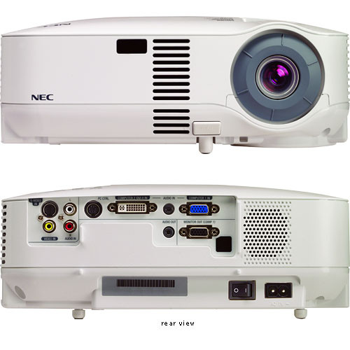 nec vt595 xga projector vt595 b h photo video rh bhphotovideo com NEC VT695 Lamp Cover NEC VT595 Status Light Blinking