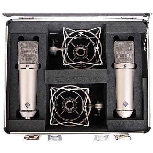 neumann u 87 ai condenser microphone u 87 ai stereo b h photo. Black Bedroom Furniture Sets. Home Design Ideas