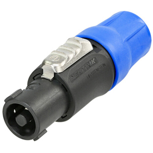 neutrik nl4fc 4 pole speakon connector w latch nl4fc b h photo neutrik nl4fc 4 pole speakon connector w latch
