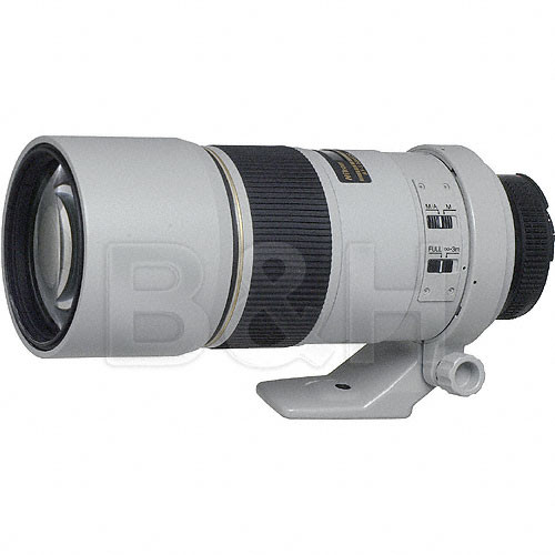 Nikon Telephoto AF S Nikkor 300mm F 4 0D ED IF Autofocus Lens Light