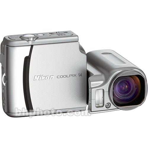used nikon coolpix s4 digital camera 25533b b h photo video rh bhphotovideo com Nikon Coolpix P90 Manual Nikon Coolpix Owners Manual 2000