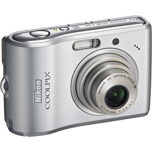 nikon coolpix l15 digital camera silver 25584 b h photo video rh bhphotovideo com  coolpix l16 manual