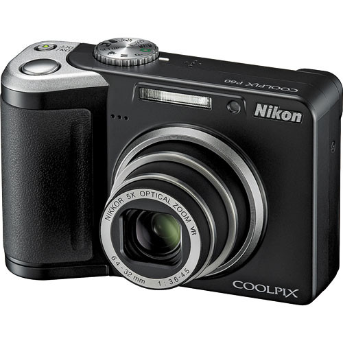 nikon coolpix p60 digital camera black 25593 b h photo video rh bhphotovideo com nikon coolpix p600 manual pdf nikon coolpix p600 manual