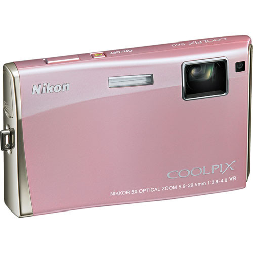 nikon coolpix s60 digital camera champagne pink 26132 b h rh bhphotovideo com nikon d60 dslr user manual nikon d60 user manual english