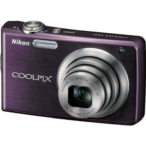 Nikon Coolpix S630 Digital Camera Royal Purple B&H