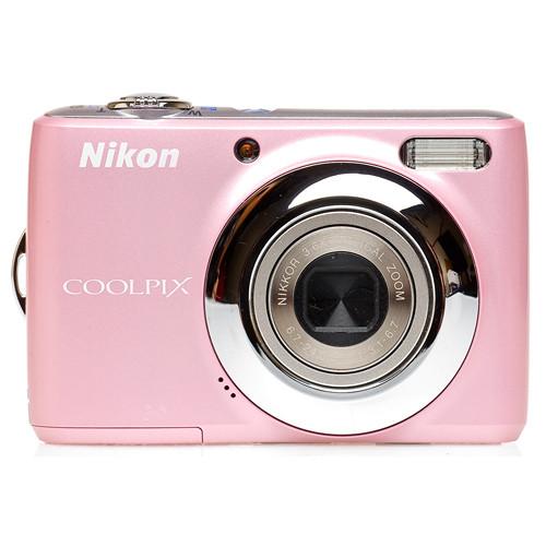 Used Nikon Coolpix L21 Digital Camera (Pink) 26201B B&H Photo