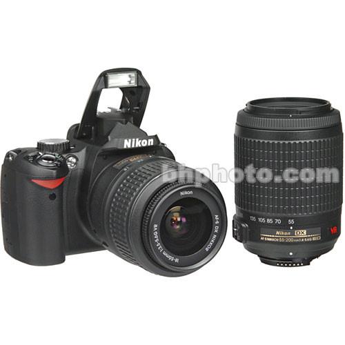 nikon d60 slr digital camera kit with 18 55mm vr lens 9609 rh bhphotovideo com