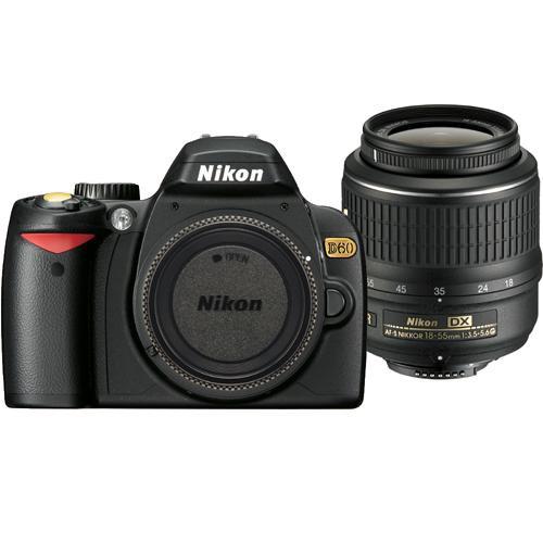 nikon d60 se slr digital camera kit with 18 55mm vr lens 9670 rh bhphotovideo com