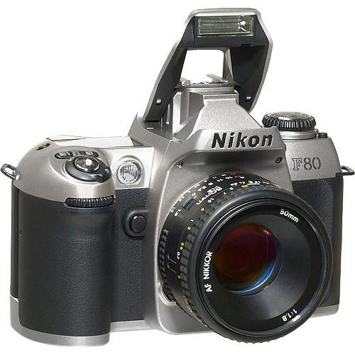 nikon f80 35mm slr autofocus camera with date kit with tamron