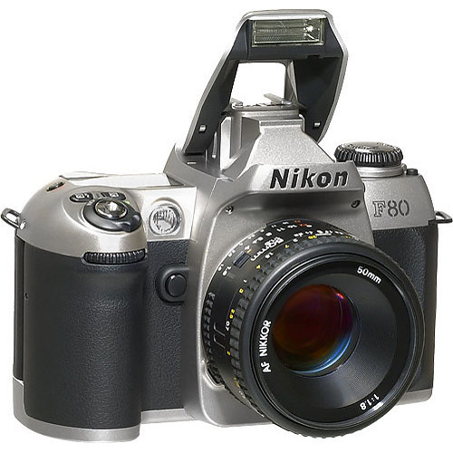 nikon f80 camera body with date silver b h photo video rh bhphotovideo com Canon A-1 User Manual in Print Owners Manual Canon