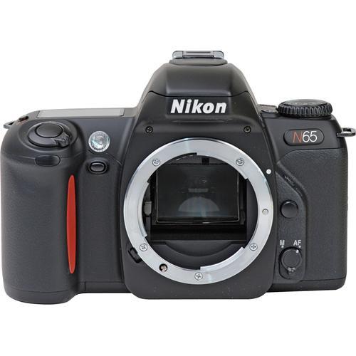 nikon n65 35mm slr autofocus camera with date b h photo video rh bhphotovideo com nikon n65 manual download nikon n65 manual español