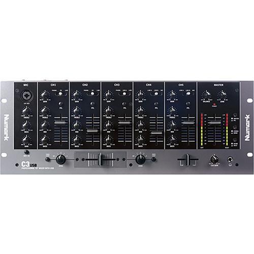 Simple 3 Channels Mini Mixer Circuit Diagram