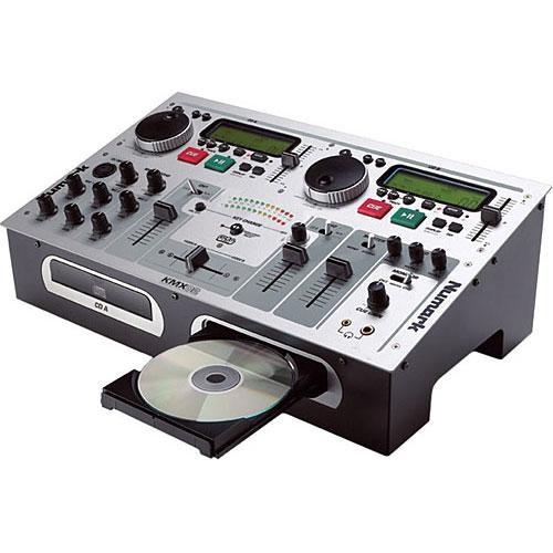 Numark KMX02 DJ CD Mixer and CD+G Support for Karaoke
